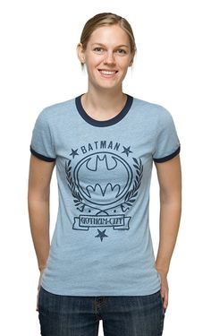 Batman Ladies' Ringer Tee