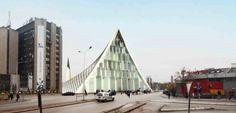 Central Mosque of Pristina Competition Entry / Victoria Stotskaia, Raof Abdelnabi, Kamel Loqman   ArchDaily