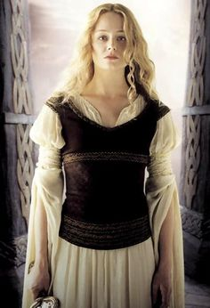 "Éowyn: ""All your words are but to say: you are a woman, and your part is in the house. But when the men have died in battle and honour, you have leave to be burned in the house, for the men will need it no more. But I am of the House of Eorl and not a serving-woman. I can ride and wield a blade, and I do not fear either pain or death."""