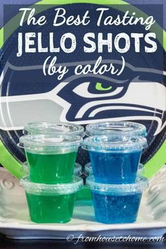 See our list of the best jello shot recipes.they taste great, are easy to make, and go with any color theme.what else do you need for a party? Rum Jello Shots, Easy Jello Shots, Jello Shot Recipes, Jelly Shots, Punch Recipes, Salad Recipes, Jello Recipes, Sangria Recipes, Fast Recipes