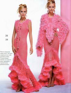 Veronica crochet y tricot...: vestidos