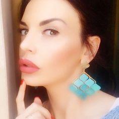 ✨✨Sfumature di Azzurro✨✨ #nuagedetoiles #bijoux #madeinitaly #solocosebelle #orecchini #earrings #light #blue #azzurro #blu #celeste #turchese #sfumature #fashion #model #gorgeous #stelle #workinprogress #staytuned (presso Florence, Italy)