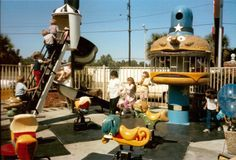 Old School Playgrounds Do you remember these?  #TBT