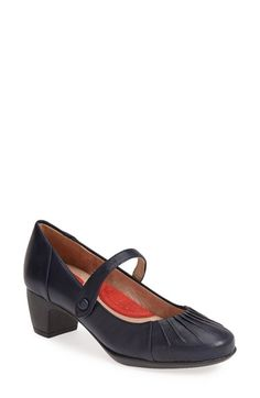 SoftWalk® 'Ireland' Leather Mary Jane Pump (Women) available at #Nordstrom