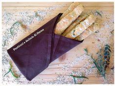 Sfilatini di pane con le olive