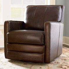 Leather Swivel Chair, Custom Leather Home Office Desk Chair