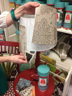 RD Shady, a line of interchangeable lampshade covers out of Olympia, Washington