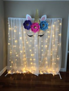 Unicorn Flower Backdrop DIY Unicorn Party Unicorn Birthday Unicorn Backdrop Unicorn Party Decorations Unicorn Baby Shower Decorations - Sites new Decoration Birthday, Decoration Photo, Diy Birthday Backdrop, Diy Unicorn Birthday Party, Birthday Party Games, 5th Birthday, 7th Birthday Party For Girls Themes, Unicorn Themed Cake, Flamingo Birthday