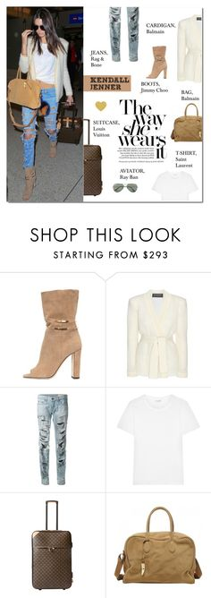 """""""Travel Style: Kendall Jenner"""" by putricp on Polyvore"""