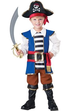 Pirate Boy Toddler Costume - Pure Costumes