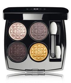 Maquillage : Palette yeux 4 ombres à paupières Signe Particulier, Chanel