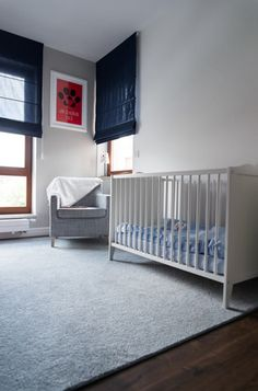 Minimalist baby room