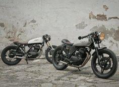 Honda FT500 Ascot #caferacer discover #motomood