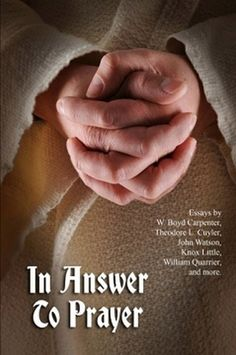 In Answer to Prayer: Essays on Prayer from Sunday Magazine (Paperback)