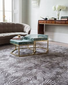 An interlocking graphic motif of curves. • The Filigree #Rug designed by @ChristopherKane for @TheRugCompany gives the impression of movement making it one of our favourite #Rugs. • Contact our #PetratosShowroom to order your very own #TibetanWoolAndSilk rug. • Μοτίβο απο καμπύλες που είναι πλούσιες σε διάσταση και υφή. • Το Filigree είναι ένα απο τα αγαπημένα μας #Χαλιά της #TheRugCompany, σχεδιασμένο απο τον #ChristopherKane. Contemporary Rugs, Modern Rugs, Dining Room Paint, Childrens Rugs, Paint Stripes, Rug Company, Diy Carpet, Hall Carpet, Transitional Rugs