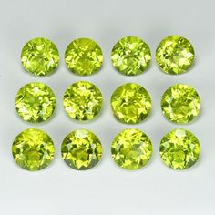 Peridot Green. Only peridot has such a unique green. #Gemstones #Crystals #CrystalJewelry Crystals And Gemstones, Green Gemstones, Rock, Semi Precious Gemstones, Crystal Jewelry, Custom Jewelry, Birthstones, Nature, Unique