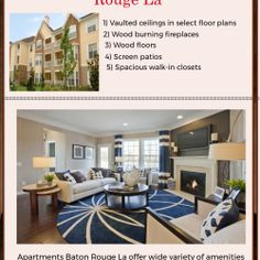 Rent the well located #Apartments #In #Baton #Rouge #La. The Apartments are surrounded by lush landscaping and flowers making it a breathtaking place to live.