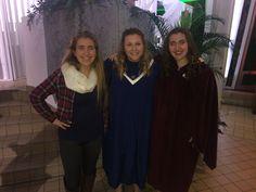 Daughter and friend sing in Gustavus College Choir!