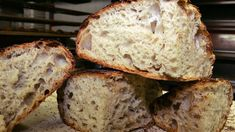 """No knead bread recipe/technique! """"Here is one of the most popular recipes The Times has ever published, courtesy of Jim Lahey, owner of Sullivan Street Bakery It requires no kneading It uses no special ingredients, equipment or techniques. Knead Bread Recipe, No Knead Bread, Most Popular Recipes, Favorite Recipes, Bread Recipes, Cooking Recipes, Good Food, Yummy Food, Baked Goods"""