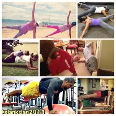 Fitness, Food and Style: Plank challenge #planksjan2013