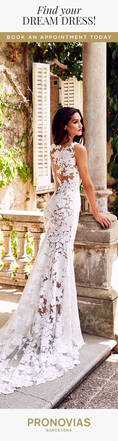 Could Rua dress be the wedding dress for you? Try it on at your nearest store!