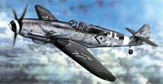 "pinturas-sgm-aviacion: ""1944 Bf 109 G-10, Stab I. JG3, Oblt Alfred Seidl 31 victories - Vlastimil Suchy """