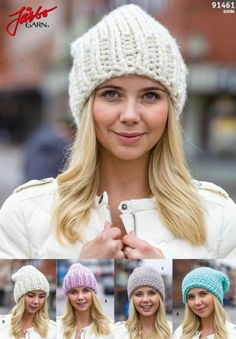 Knitted or crochet hat. Perfect pattern for beginners! Knit Or Crochet, Crochet Hats, Headband Crochet, Knit Mittens, Winter Hats, Diy Crafts, Knitting, Pattern, Blog