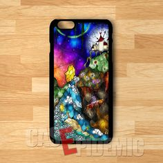 Alice in Wonderland beautiful color girl -srwe for iPhone 4/4S/5/5S/5C/6/ 6+,samsung S3/S4/S5/S6 Regular,samsung note 3/4