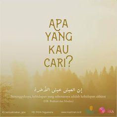 http://nasihatsahabat.com #nasihatsahabat #mutiarasunnah #motivasiIslami #petuahulama #hadist #hadits #nasihatulama #fatwaulama #akhlak #akhlaq #sunnah #aqidah #akidah #salafiyah #Muslimah #adabIslami #DakwahSalaf # #ManhajSalaf #Alhaq #Kajiansalaf #dakwahsunnah #Islam #ahlussunnah #sunnah #tauhid #dakwahtauhid #alquran #kajiansunnah #apayangkamucari? #duniaatauAkhirat? #manalebihpenting, #nasihatpribadi, #selfreminder #apayangkaucari