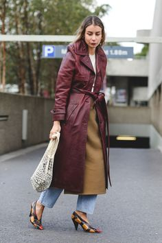 London Fashion Week Street Style Is All About The High-Low+#refinery29