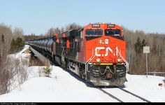 RailPictures.Net Photo: CN 2900 Canadian National Railway GE ES44AC at Ferland, Ontario, Canada by Chris Wilson