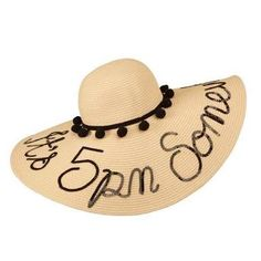 17795445811a0 Image result for straw hats pom pom