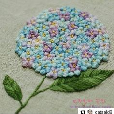 how to do french knots embroidery Hand Embroidery Projects, Embroidery Stitches Tutorial, Embroidery Kits, Embroidery Designs, French Knot Stitch, French Knots, French Cuff, French Knot Embroidery, Silk Ribbon Embroidery