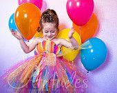 Atutudes Rainbow Tutu Dress. $49.95, via Etsy.