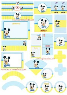 Mickey mouse baby shower invitations template hb trinchudo mickey mouse baby shower invitations template see more kit digital mickey baby pronofoot35fo Choice Image
