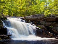 Lower Purgatory Falls, Milford, New Hampshire