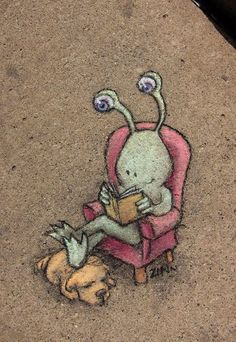 Sluggo. David Zinn, 2011