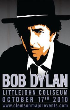 Bob Dylan - Littlejohn Coliseum 2010 - Mini Print