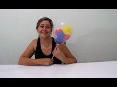 coelho feito de balões - rabbits with balloon - YouTube