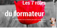Les 7 rôles du formateur Coaching, Management, Positivity, Branding, How To Plan, Motivation, Learning, Communication, Boss