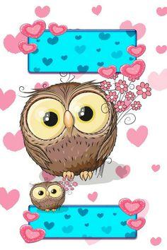 Cute Owls Wallpaper, Unique Wallpaper, Owl Clip Art, Owl Art, Cute Owl Cartoon, Tomoyo Sakura, Beautiful Owl, Tatty Teddy, Belle Photo