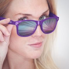 Purple Highway Shades. Really starting to like these types of sunglasses