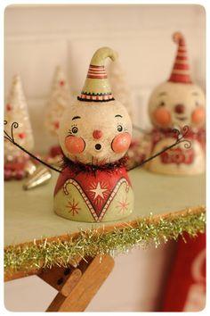 Snowbusts by Johanna Parker Design, via Flickr
