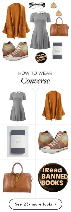 """Missoni Converse"" by kjmazeltov on Polyvore featuring Converse, Cameo Rose, maurices, Yves Saint Laurent and Saachi"