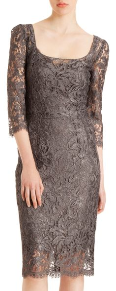 Dolce & Gabbana Lace Sheath Dress