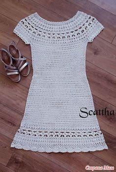 Crochet Skirts, Crochet Lace Dress, Crochet Motif, Crochet Top, Drops Design, Knit Patterns, Dress Skirt, Boutique, Knitting