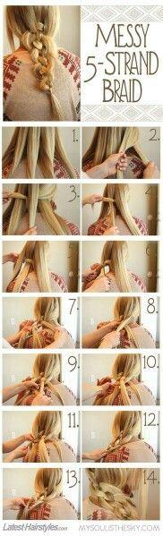 Five Straid braid