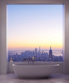 Imagine what it's like to live almost 1,500 feet above New York City. Or, even better, imagine the view from your penthouse apartment in the tallest residential building in the Western Hemisphere. On Wednesday, the interior images of 432 Park Avenue...