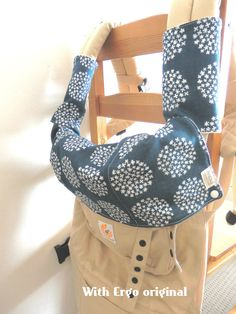 Made with bamboo and organic cotton fleece Carrier by Babyanicka