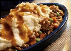 All-Day Shepherd's Pie - This all-day slow cooker ground beef recipe is the ultimate comfort food. Slow cooker shepherd's pie is easy to prepare and so satisfying. Talk about the perfect, one-pot meal!